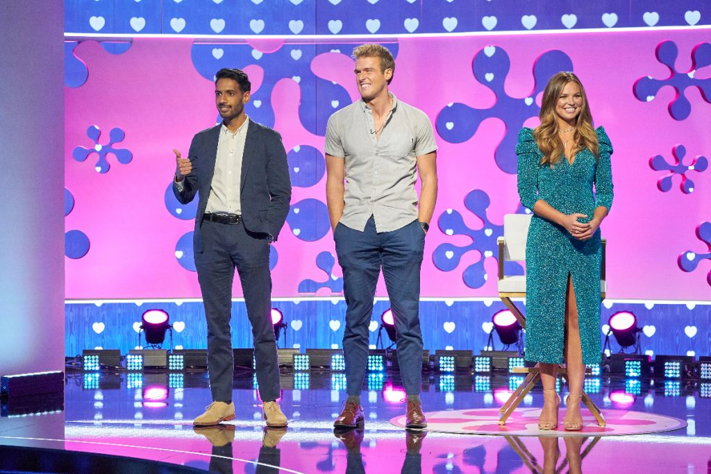 Celebrity Dating Game: Hannah Brown Chooses Bachelor #3 – See Photos Inside