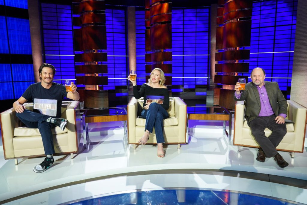 Jason Alexander, Oliver Hudson and June Diane Raphael Appear on 'To Tell the Truth'