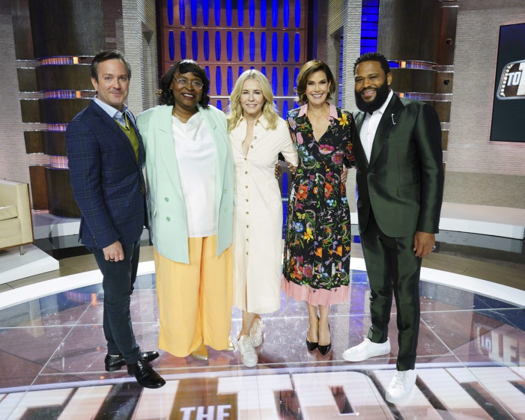 Teri Hatcher, Chelsea Handler and Thomas Lennon Appear on 'To Tell the Truth'