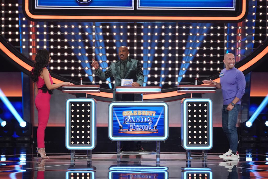 Casts of 'Selling Sunset' vs. 'Bling Empire' on 'Celebrity Family Feud' – See Photos Inside!