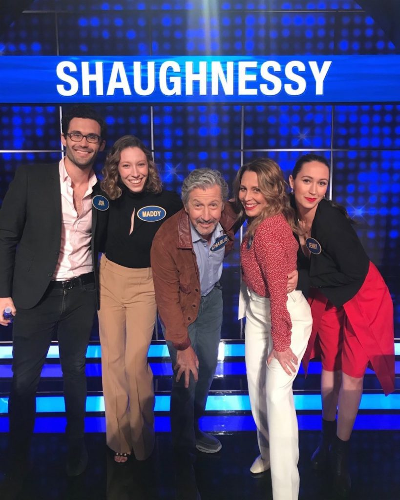 Fran Drescher vs. Charles Shaughnessy on 'Celebrity Family Feud'